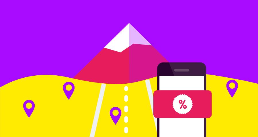 ads geolocalizados retencion adquisición de usuarios