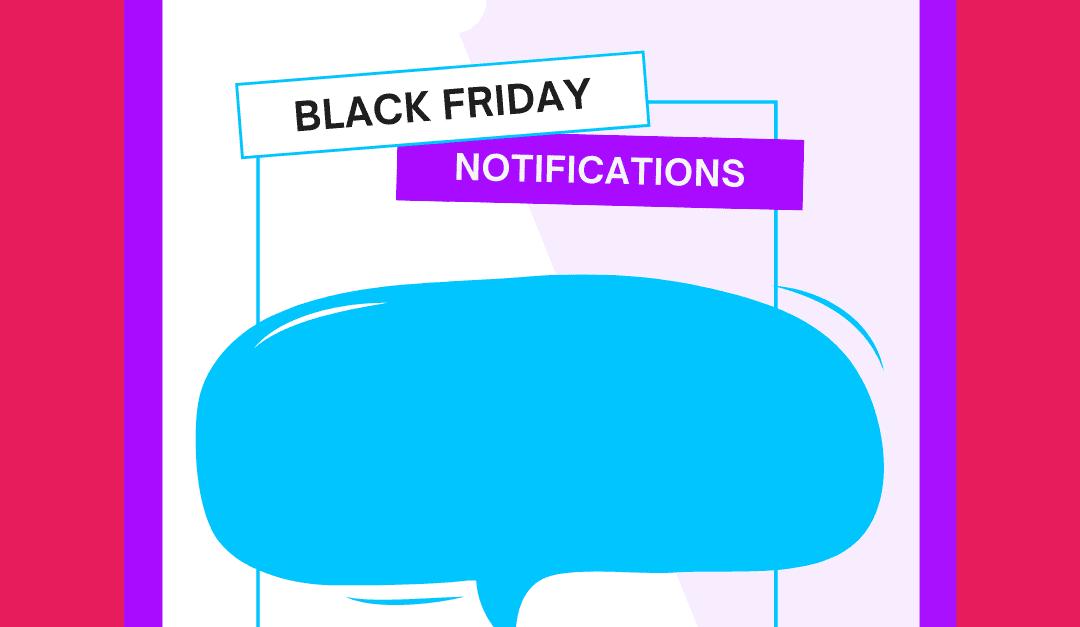 6 estrategias de Notificaciones Push para el Black Friday